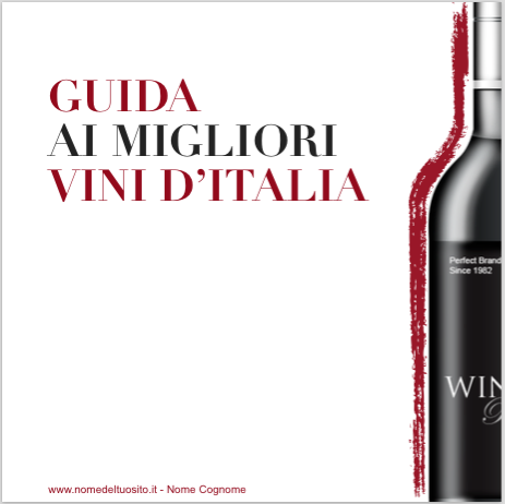 Template per guida sui vini