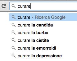 Ricerca delle frasi chiave della tua nicchia su Google